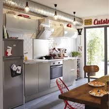 cuisine decor meuble de cuisine décor aluminium delinia stil leroy merlin