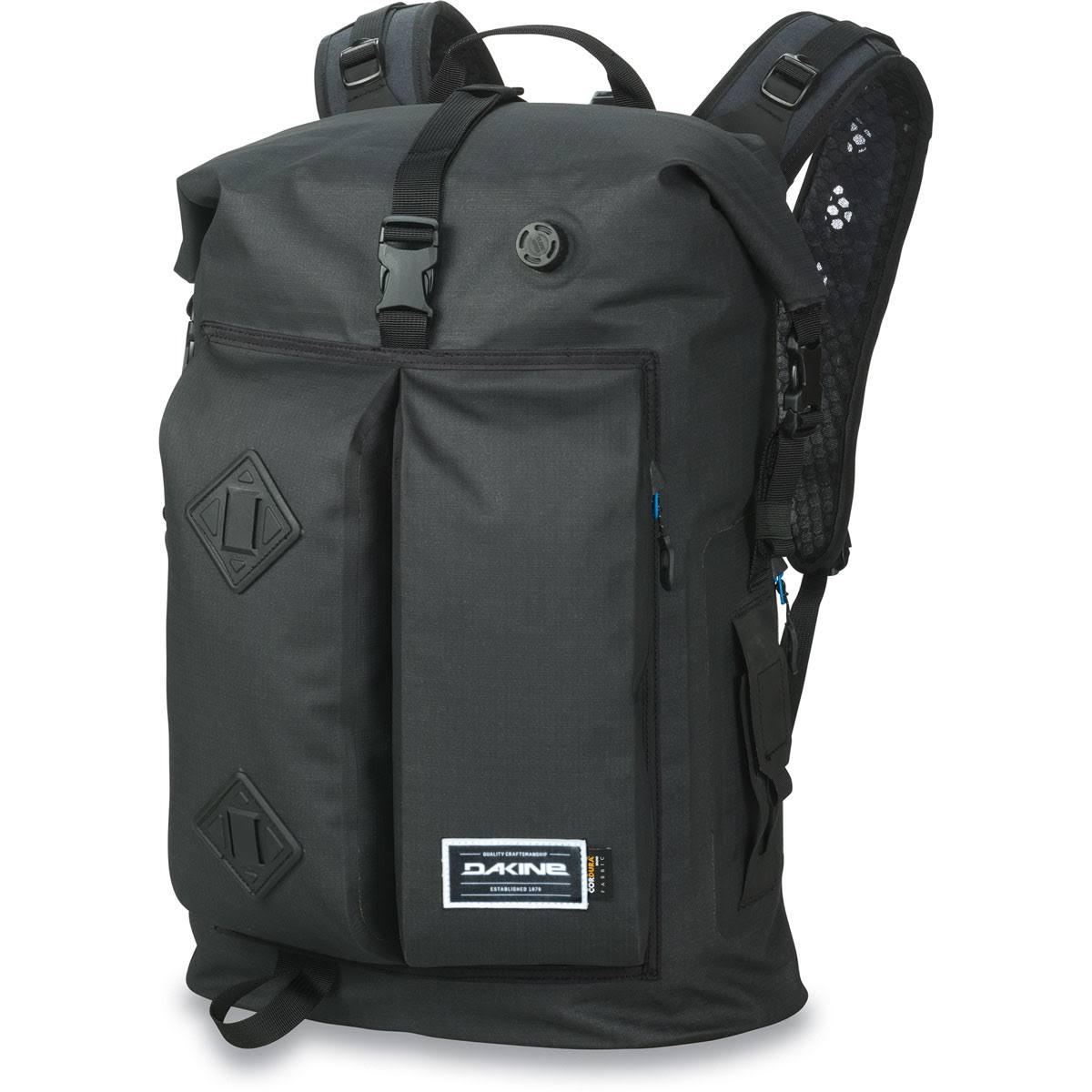 Dakine Cyclone II Dry Pack Mens Waterproof Backpack Bag - Black, 36L