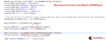 In Java How To Convert Map HashMap To JSONObject 4 Different