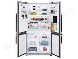 beko gne134620x pas cher réfrigérateur 4 portes beko livraison