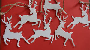 Donner And Blitzen Christmas Tree Ornaments by Christmas Decorations