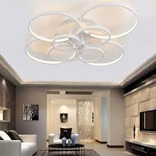 18w led ceiling fan w lights remote 220 240volt fan led