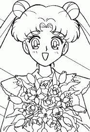 Sailor Moon Colouring Book