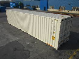 100 Shipping Containers 40 Ft High Cube Double Door One Trip Container
