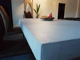 esstisch beton massiv holz esszimmer betonoptik individuell
