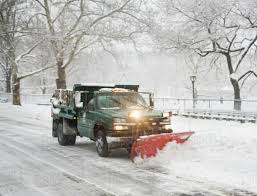 100 Truck Plow Snow Plow Truck Clearing Road Stock Photo Dissolve