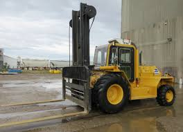 Mastercraft Model MC-20-974 20,000-Lb Diesel Forklift Truck, Serial ...