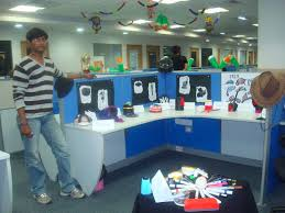 Cubicle Decoration Themes In Office For Diwali by Interesting Office Bay Decoration Themes Is Best Theme Idea To