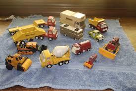 VINTAGE LOT OF Tonka Trucks Toys Late 60's 70's Vintage Metal ...