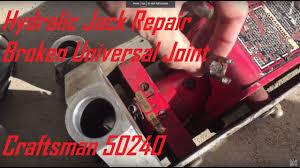 Duralast Floor Jack Handle by Universal Joint Repair Hydraulic Jack Craftsman 50240 Youtube