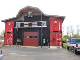 All Sizes   Shipping Container Barn Workshop   Flickr - Photo ... Foundation Options For Fabric Buildings Alaska Structures Shipping Container Barn In Pictures Youtube Standalone Storage Versus Leanto Attached To A Barn Shop Or Baby Nursery Home With Basement Home Basement Container Workshop Ideas 12 Surprising Uses For Containers That Will Blow Your Making Out Of Shipping Containers Any Page 2 7 Great Storage Raising The Roof Tin Can Cabin Barns Northern Sheds Fort St John British Columbia Camouflaged Cedar Lattice Hidden