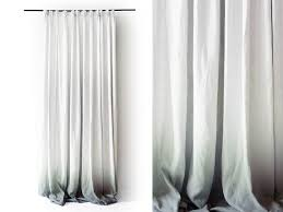 White Blackout Curtains Kohls by Belgian Flax Linen Curtain White West Elm Blackout Curtains How To