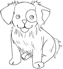 Puppy Realistic Animal Coloring Pages