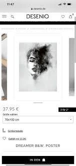 desenio poster bilder foto 70x100