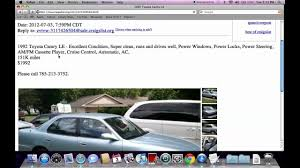 100 Craigslist Kansas Cars And Trucks By Owner Manhattan KS Used KSU Private For Sale By