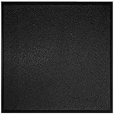 Black Ceiling Tiles 2x4 by Amazon Com Genesis Stucco Pro Revealed Edge Black Ceiling Tile