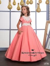 online get cheap little girls red pageant dresses aliexpress com