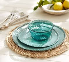 Turquoise Dinnerware Glass - Thediapercake Home Trend Pottery Barn Asian Square Green 6 Inch Dessert Snack Plates Shoaza Ding Beautiful Colors And Finishes Of Stoneware Dishes 2017 Ikea Hack We Loved The Look Of Pbs Catalina Room Dishware Sets Red Dinnerware Fall Decorations My Glittery Heart Kohls Dinner 4 Sausalito Figpurple Lot 2 Salad Rimmed Grey Target