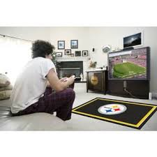 Pittsburgh Steelers Bathroom Set by Pittsburgh Steelers Rugs U0026 Area Rugs For Less Overstock Com
