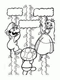 22 Dessins De Coloriage Mario Bros À Imprimer Dedans Coloriage Super