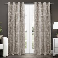 Cynthia Rowley White Window Curtains by Curtains Paisley Curtains Window Treatments Decorating Shower