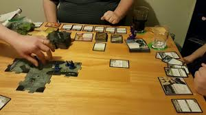Cards And Boards Dungeons Dragons Legend Of Drizzt Play Through