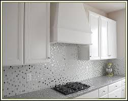 glass mosaic tile backsplash edge tiles home design ideas