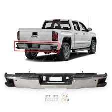100 Gmc Truck 2014 Amazoncom MBI AUTO Chrome Steel Rear Step Bumper Assembly For