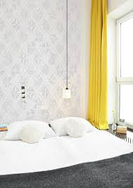 Yellow White And Gray Curtains by Palette Profile Yellow Gray And White Interiors Contemporist