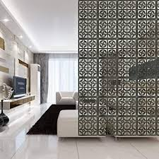 y step 9 tlg raumteiler aus holz hängender paravent für schlafzimmer esszimmer arbeitszimmer hotel büro bardekoration ebenholz