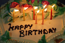 Free Stock of Happy Birthday Cake with Candles Public