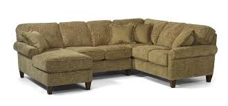 Sofa Mart Lakewood Colorado by Flexsteel Westside Casual Corner Sectional Fabric Upholstered Sofa