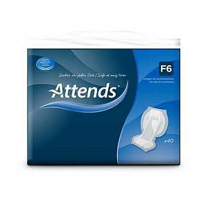 Attends F6 Faecal Pad - 4 Pack