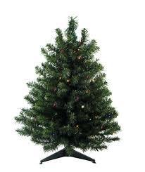 3 Lit Led Natural Two Tone Pine Artificial Tree Multi Lights Half Christmas Prelit 6ft Pre