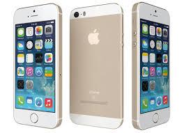 3D model Apple iPhone SE Gold