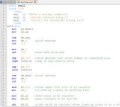 Solved: Using 8086 Assembly Language And NASM Assembler Er ...