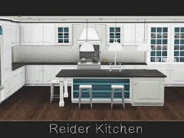 A Mix Of Contemporary And Traditional Styling Late Night May Be Required For The Bar Table Found In TSR Category Sims 3 Kitchen Sets