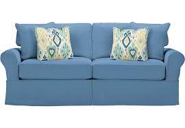 cindy crawford home beachside blue sleeper sofa sleeper sofas blue