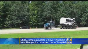 Children, Driver Injured In NH Bus Crash Released From Hospital ... Worst Job In Nascar Driving Team Hauler Sporting News Class A Delivery Driver Home Daily San Antonio Tx Jobs 411 Vermont Cdl Local Truck Vt Eversource Pledges Local Jobs New Hampshire Employment Otr Pro Trucker Cdl Resume Flawless Otr Unique Tow Woman Charged With Drunken Cbs Boston Truck Driver Students B Pre Trip Inspection Youtube Join Our Team Graham Trucking Inc Ups Driver From Woodbridge Has 45 Years 4 Million Miles On In Lily Transportation