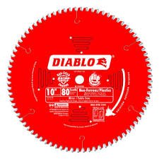 Skil Flooring Saw Home Depot by Diablo 10 In X 84 Tooth Laminate Non Ferrous Metal Cutting Saw
