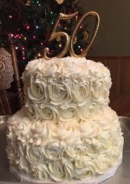 50th Wedding Anniversary Cake More