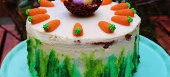 möhren torte mit frischkäse creme mainbacken