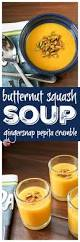 Pumpkin Butternut Squash Soup by Butternut Squash Soup With Gingersnap Pumpkin Seed Crumble