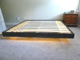 Beds Floating Platform Bed With Storage Diy King Size Plans