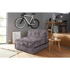 inosign sessel loungesessel aus weichem cord in 2 größen mit schlaffunktion und pouf funktion