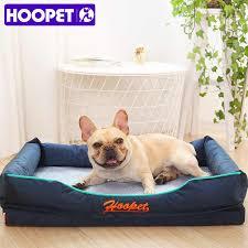 hoopet haustier hundehütte sommer dual use hund bett sofa matte abnehmbare kühlen gute qualität