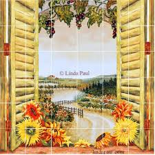 Tuscan Decorative Wall Tile by Kitchen Backsplash Adorable Shower Tile Murals Tuscan Backsplash