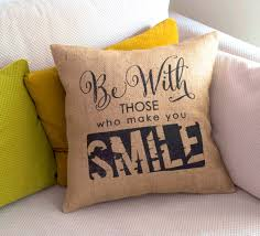 Decorative Outdoor Lumbar Pillows by Bedroom Endearing Unique Quotes Burlap Related Items Pillows