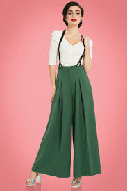 retro pants u0026 jeans wide leg high waist capri u0026 crops