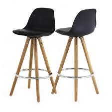 chaise pour plan de travail chaise plan de travail trépied en bois scandinave soldes